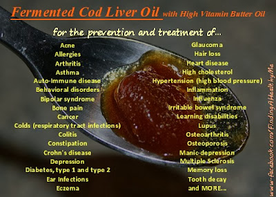 Finding a healthy me amazing benefits of fermented cod for Fermented fish oil