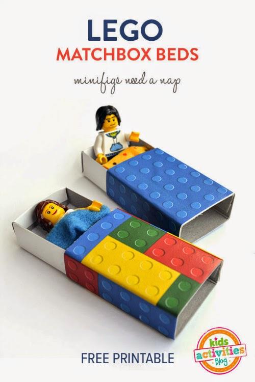 Κρεβατάκι σπιρτόκουτο lego