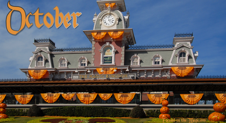 Magic Kingdom fall autumn October Walt Disney World Resort