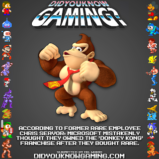 donkey kong microsoft fact Random Game Facts   Donkey Kong Owned By Microsoft?