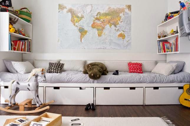 Mi rincÓn de sueÑos: como decorar una habitación compartida larga ...