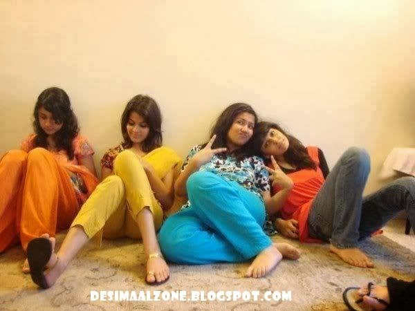 Hostel Girls In Chillin Mode