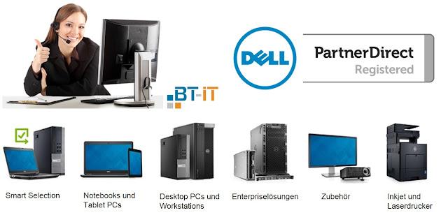 BT-IT GmbH und DELL - Software- und Hardwarelösungen von Spezialisten.