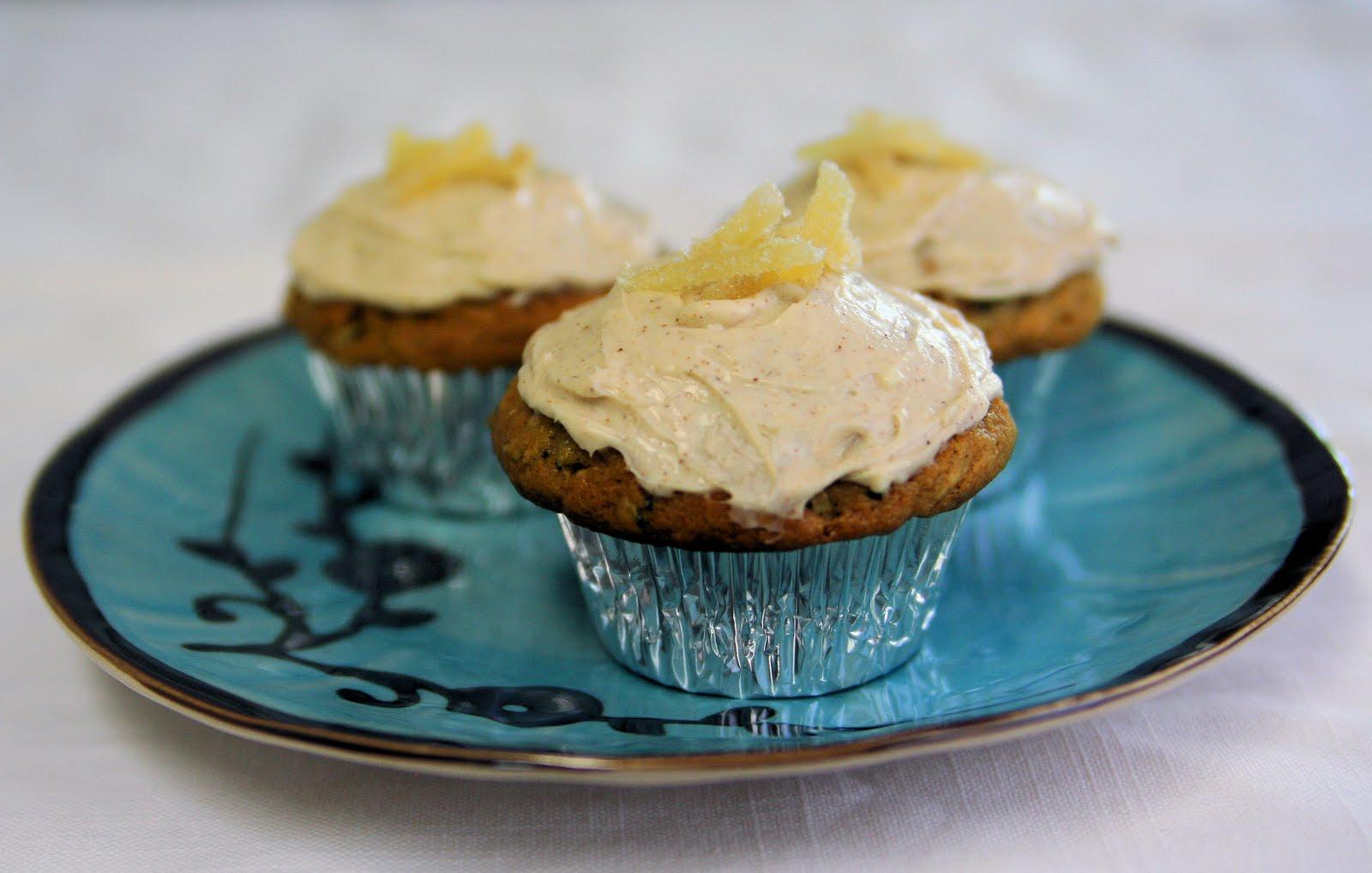 Through My View: Zucchini Ginger Cupcakes