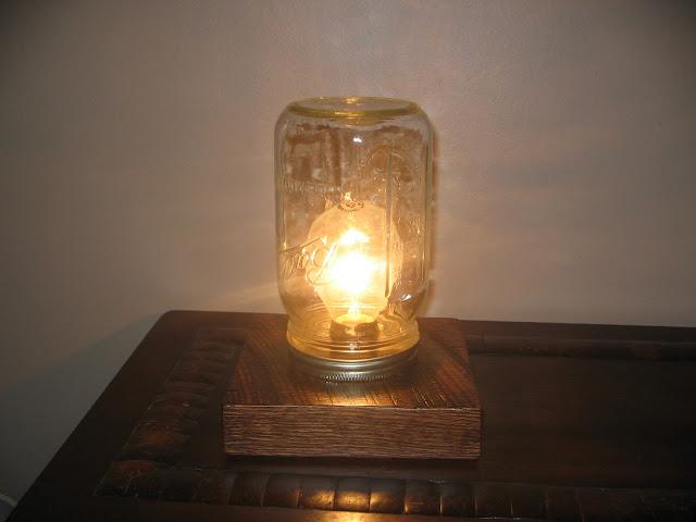 My Inner Geek Has Add Rustic Table Lamp Reclaimed Wood