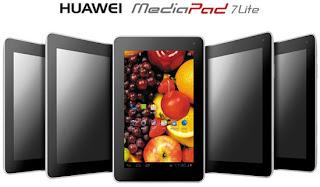 Huawei Perkenalkan MediaPad 7 Lite