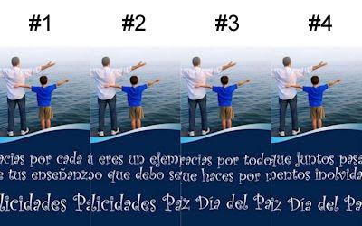 4 postales con mensajes para festejar el Día del Padre