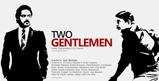 first poster of 2 gentlemen malayalam