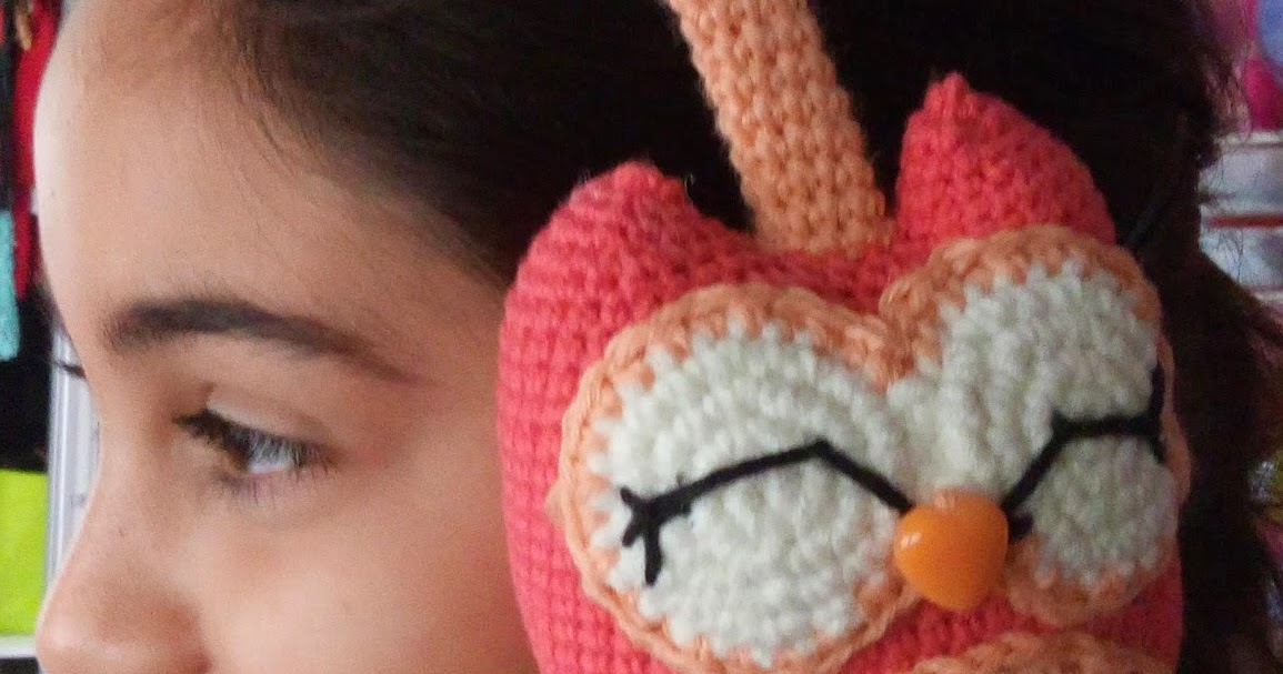 CANAL CROCHET: Orejeras crochet patrón libre.