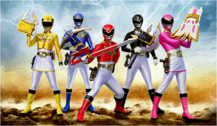 dvd power rangers megaforce