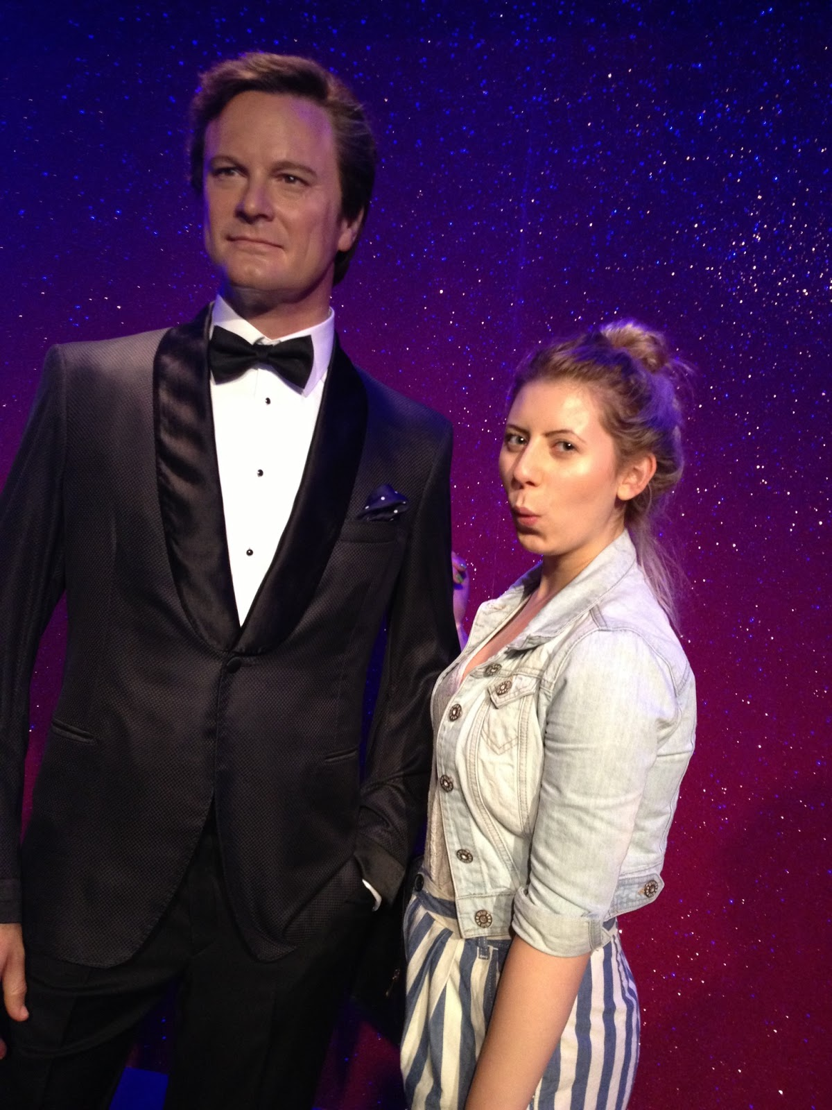A DAY OUT AT TUSSAUDS + THE DINER