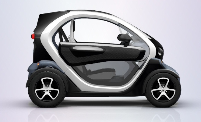 Renault Twizy Technic from the side