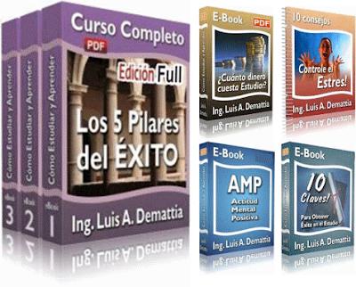 los 5 pilares del exito en el estudio ing luis demattia curso Los 5 Pilares del Éxito en el Estudio   Ing. Luis Demattia [Curso]