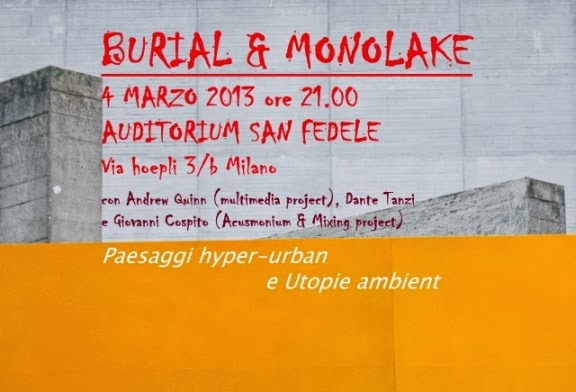 Lunedì 4 marzo 2013: cosa fare a Milano concerti musica elettronica