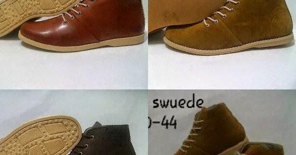 Koleksi gambar model sepatu brodo pria dewasa keren gaul ...