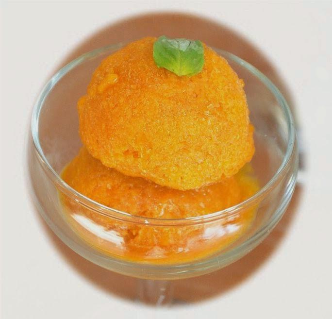 es krim cream buah manis segar dessert cuci mulut sederhana praktis