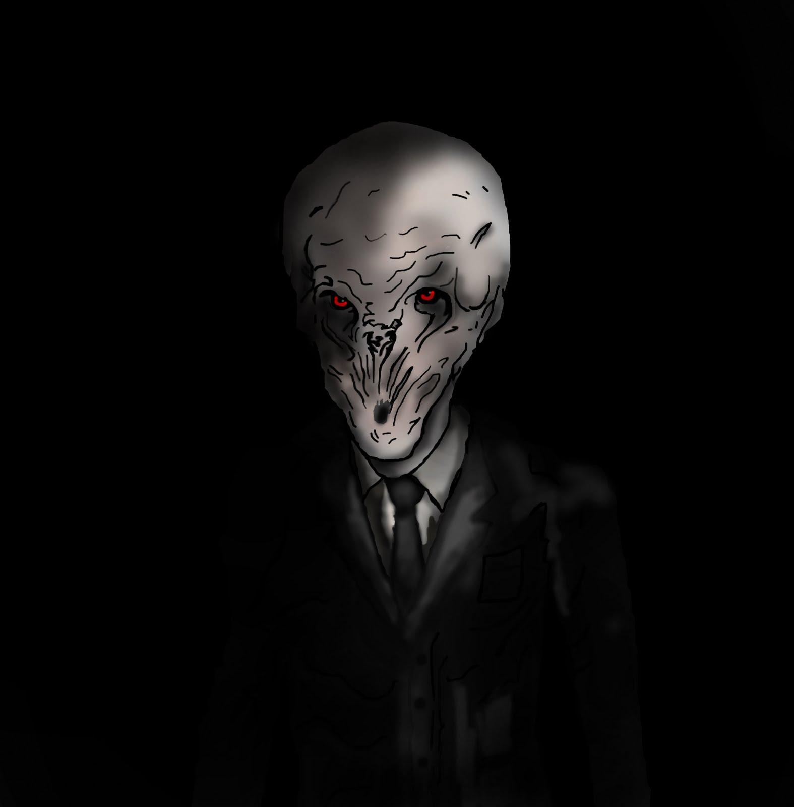 Creepy Monster Drawings This creepy new monster