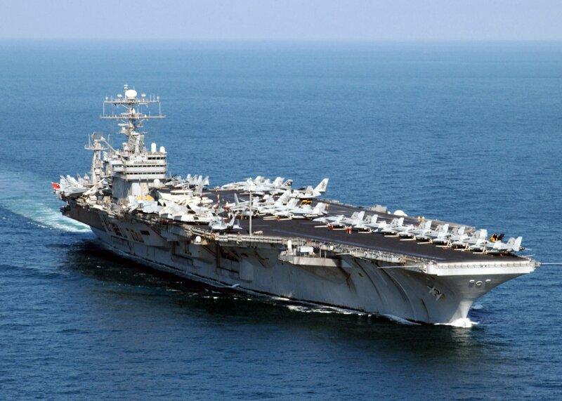 Kapal induk USS Abraham Lincoln. Foto: imej google