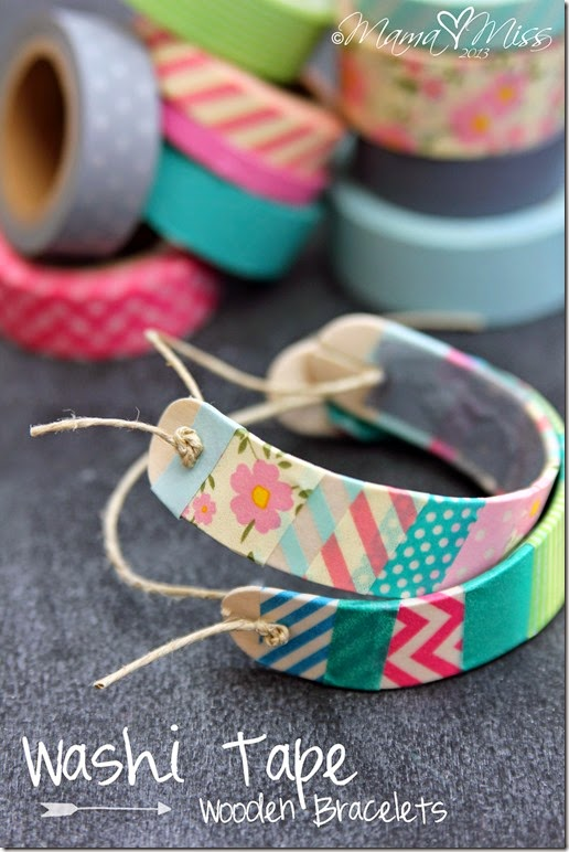 http://www.mamamiss.com/2013/05/30/diy-washi-tape-wooden-bracelets/