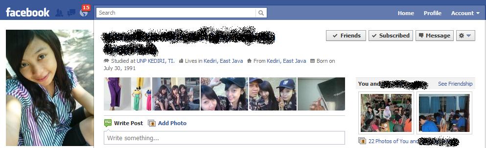 Cara Mencari Alamat Profil Teman Facebook Lewat Foto