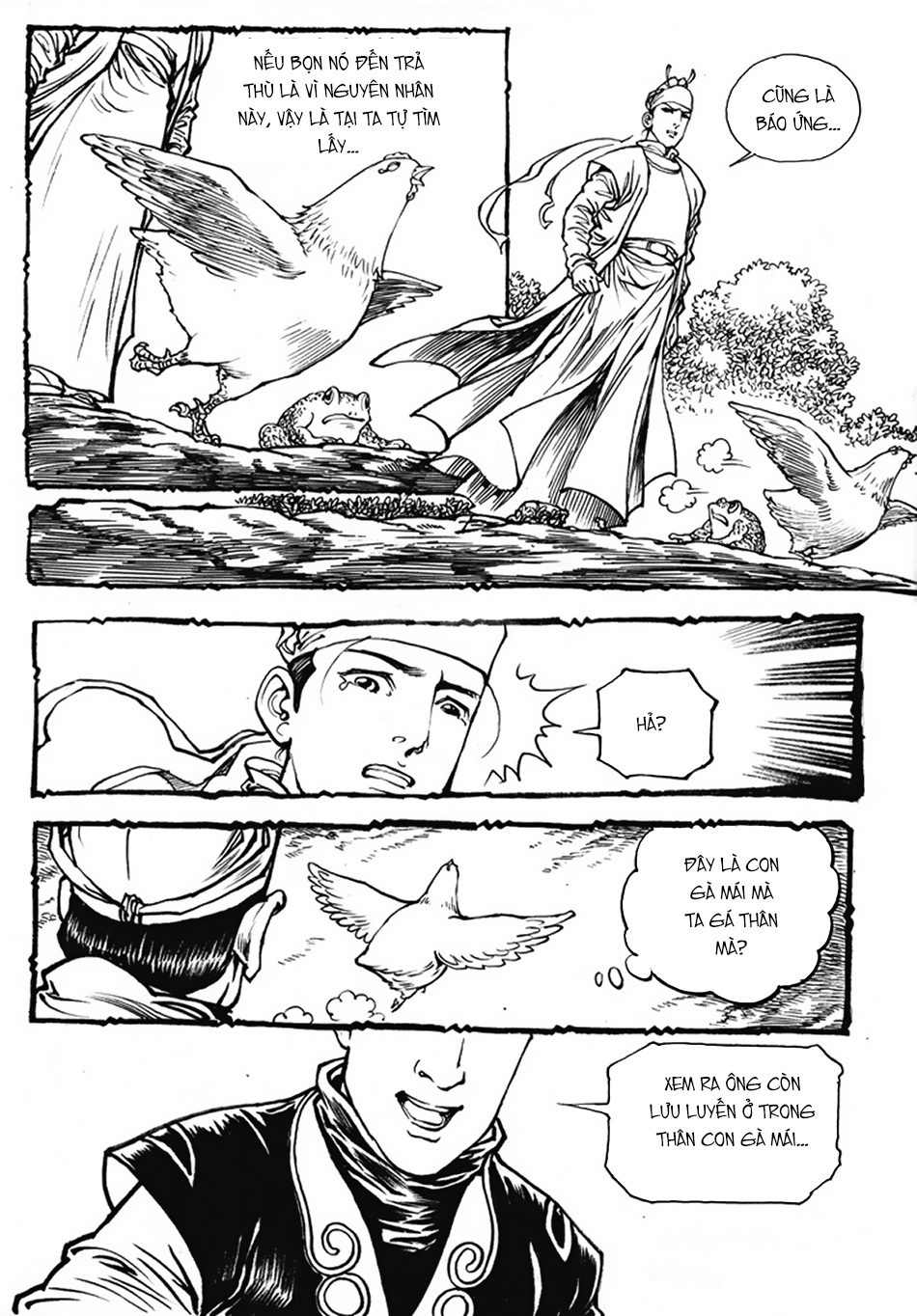 Chung Quỳ Truyền Kỳ Chapter 26 - Hamtruyen.vn