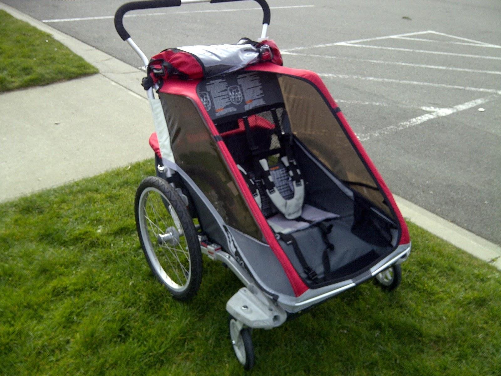 BAM Gear Chariot Cougar 2 Stroller Bike Trailer