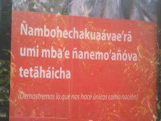 texto em guarani