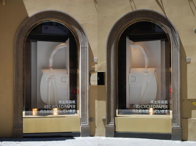 Schaufenster von Gucci
