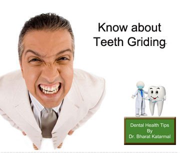 danger of night grinding affect health of tooth