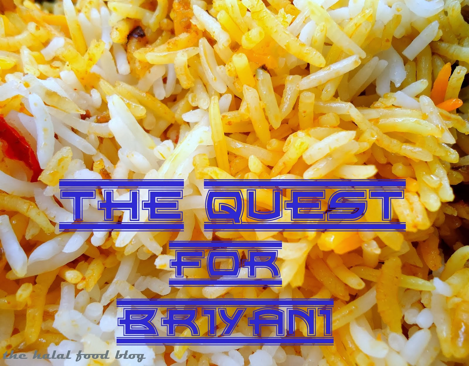 The Quest For Briyani Series