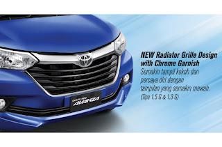 New Radiator Grille Design with Chrome Garnish