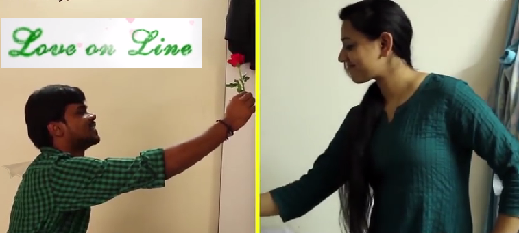 LOVE ON LINE TELUGU SHORT FILM By