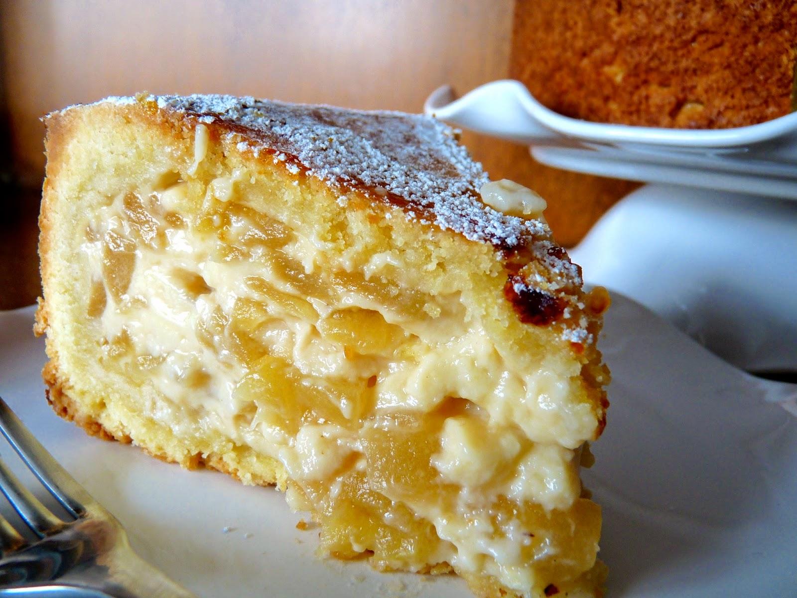 La cocina de piescu tarta de manzana asturiana for Cocina asturiana