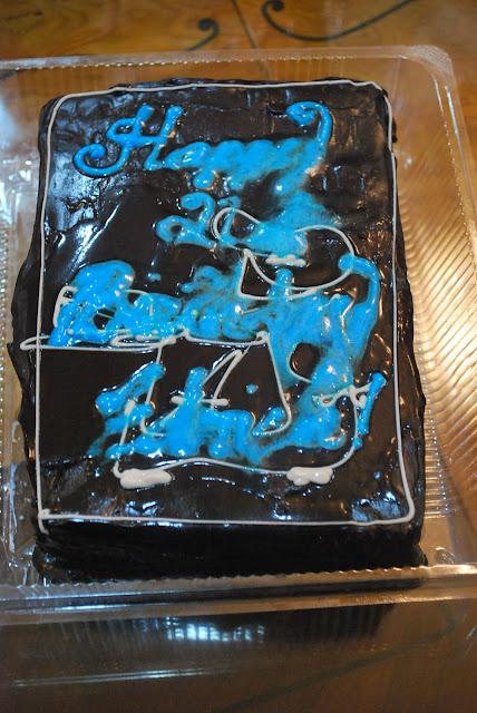 Bel Air Cake Order