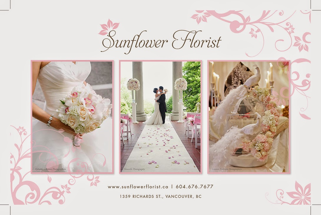 Vancouver Flowers - Wedding , Every day, and events Florist in Vancouver
