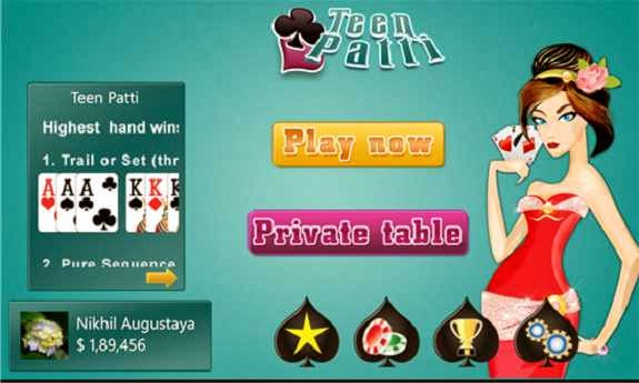 How to install Octro Teen Patti in PC Computer laptop image picture