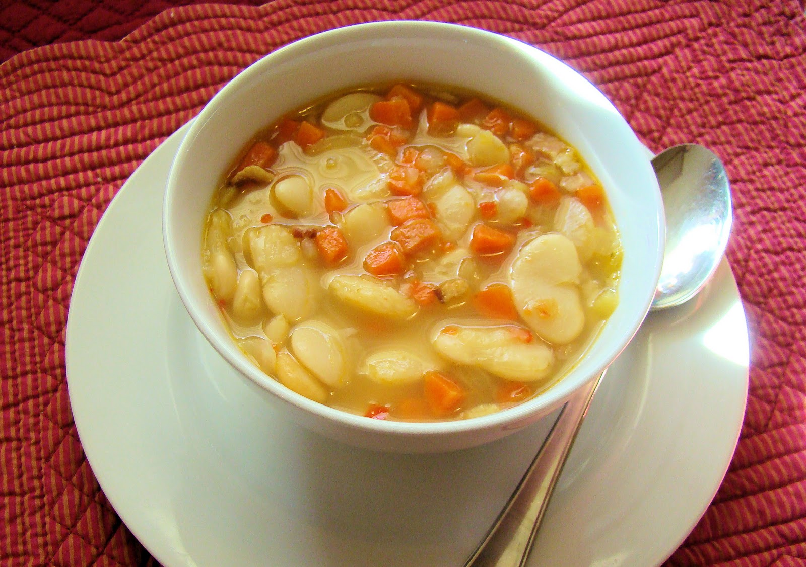 ... luscious lima bean soup recipe yummly slow cooker hearty lima bean