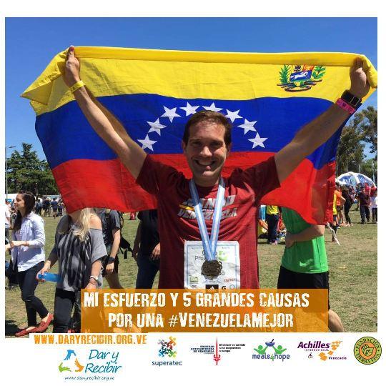 Mi esfuerzo y 5 grandes causas por una #VenezuelaMejor, @RetoConCausa