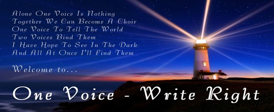 One Voice ~ Write Right