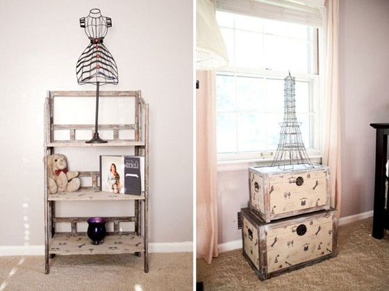 Parisian Baby Nursery Design, Pictures, Remodel, Decor And Ideas