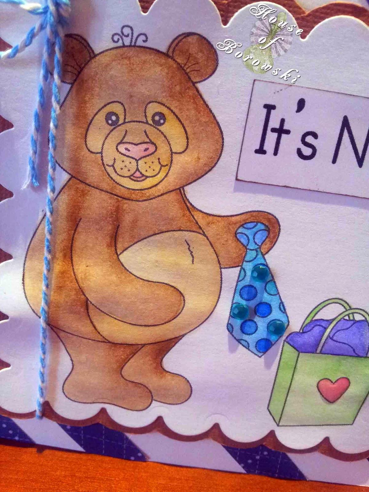 Deedee's Digis Its Not a Tie, Lyra watercolour crayons