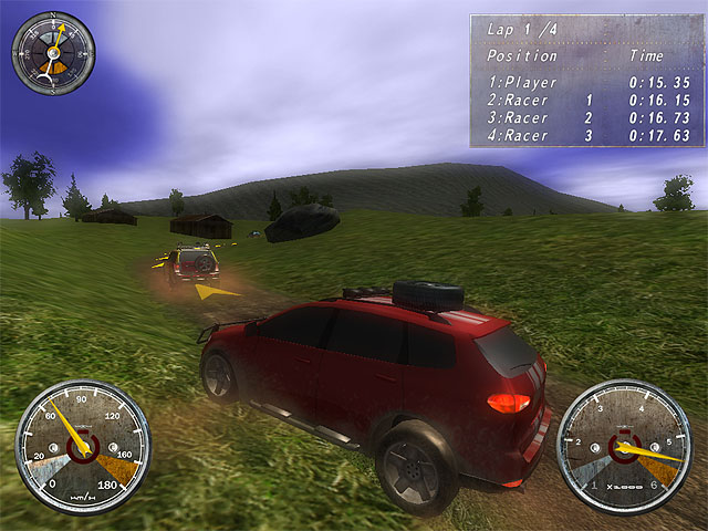 لعبة سباق سيارات رباعية الدفع Extreme 4x4 Racing