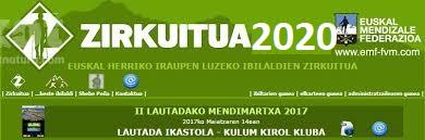 ZIRKUITUA 2020 EGUTEGIA