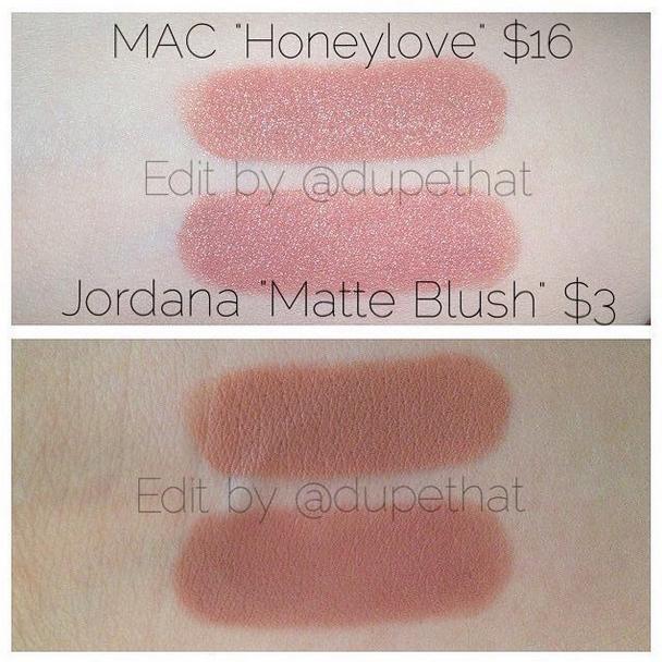 mac honeylove lipstick dupe-#34