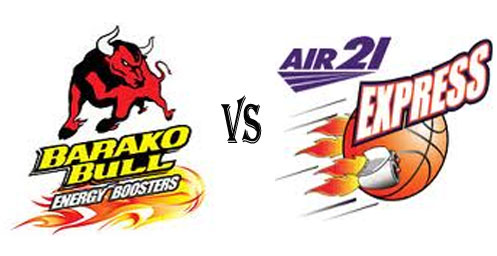 Barako Bull Energy Cola vs Air21 Express in game 2