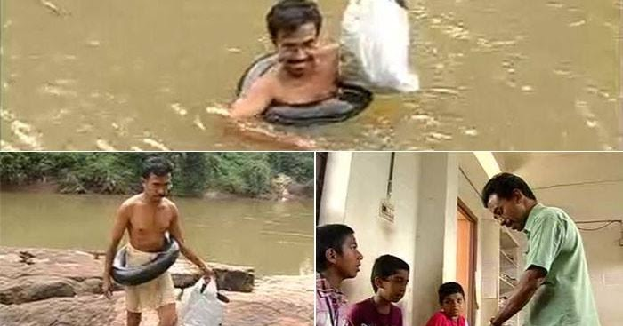 Abdul mallik a teacher who swims through a river for Abduls indian bengali cuisine