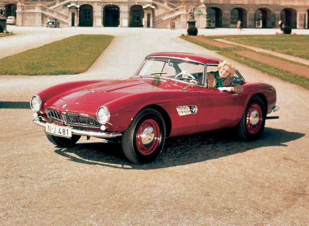 Bmw Fuel Efficient Car 1955 Bmw 507 Cool Cars