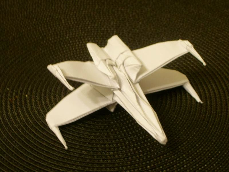 x wing origami