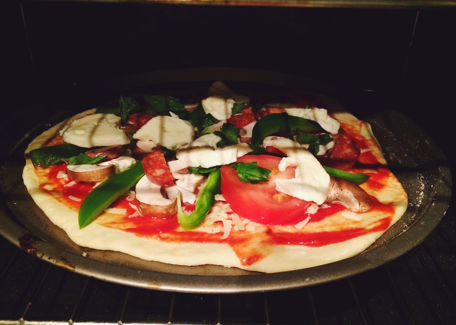 easy pizza recipe, UK lifestyle blog