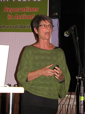 Penny Hess, Chairwoman of the African People&#8217;s Solidarity Committee